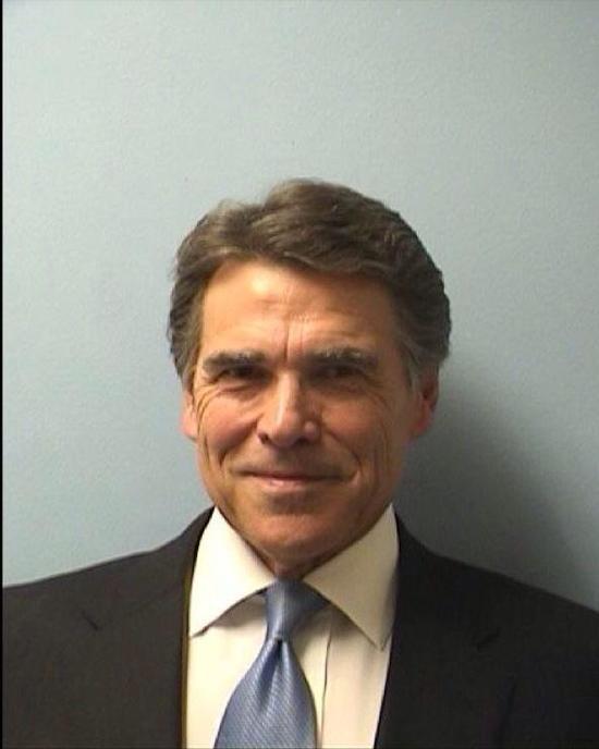 Mug shot of Rick Perry