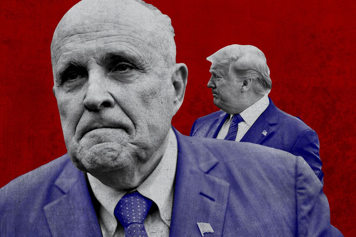 , Rudy Giuliani has COVID-19, The Politicus