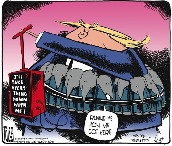 Tom Toles Editorial Cartoon