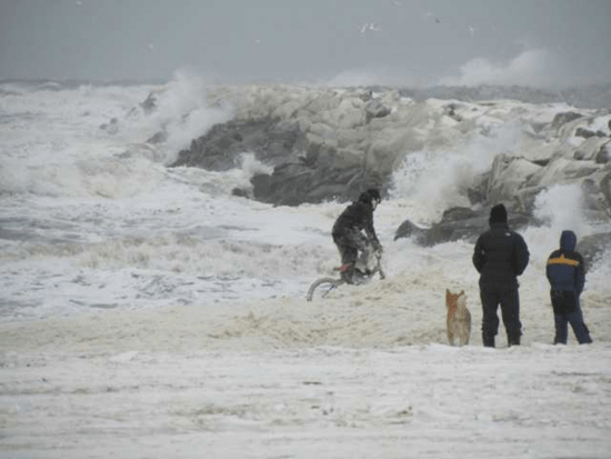 Arctic storm from the Bering Sea in 2011 blasted remote coastal towns with winds of up to 89 mph and white-out blizzards.