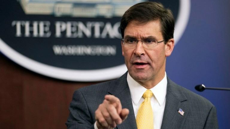 Defense Secretary Mark Esper was a defense industry lobbyist; guess whose stock just jumped