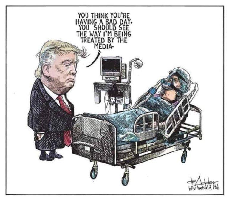 Today's Trump presser: rinse, wash, repeat – Trump touts unproven treatments, blames others