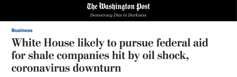 MA-Sen: Sen. Ed Markey (D) Refuses To Let Trump's Corporate Socialism Bail Out The Oil Industry