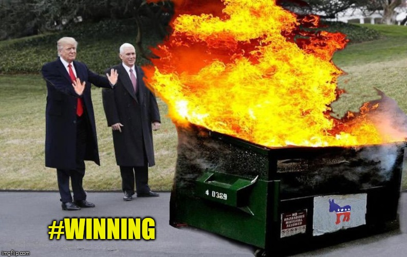 , Trump is a dumpster fire.  But have any of your Republican friends admitted that to you?, The Politicus