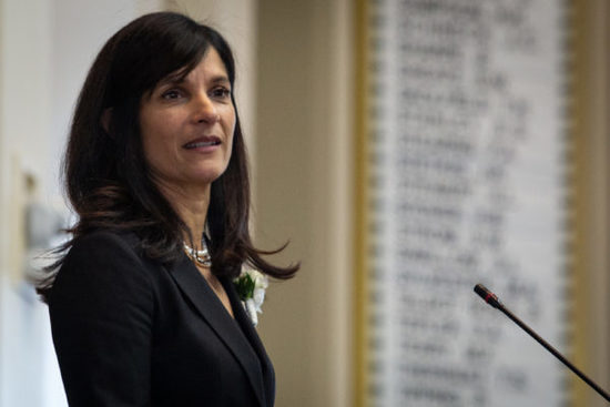 AUGUSTA, MAINE -- 12/05/18 -- Maine Speaker of the House, Sara Gideon, D-Freeport. Troy R. Bennett | BDN