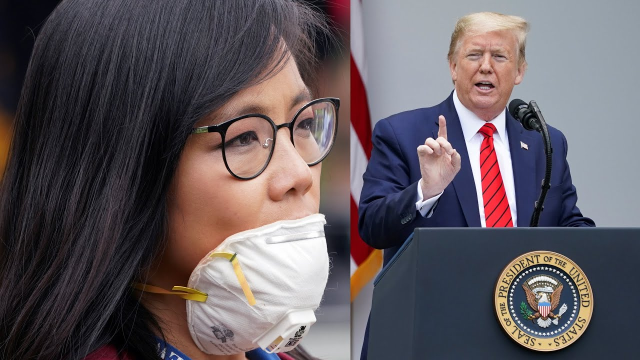 , Trump implodes at reporter Weijia Jiang's probing question and abruptly ends press conference, The Politicus