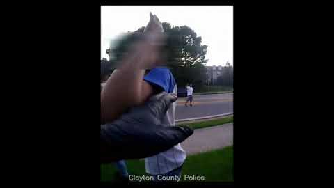 Clayton County Police Officer Responds to Armed Teenagers