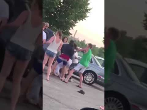 Kyle Rittenhouse punching a girl.