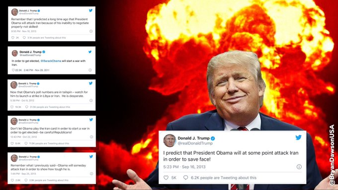 , Trump's goading toward war or Iran's waiting for a new nuclear agreement after January, The Politicus