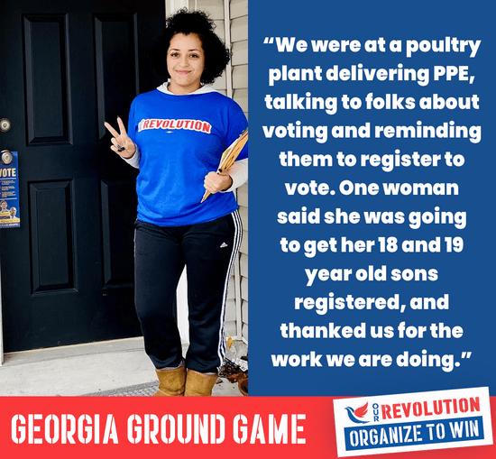 , GA-Sen A & B: Our Revolution Helps Boost Democrats GOTV  Ground Game To Flip The Senate Blue, The Politicus