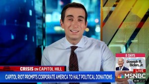 Sorkin on companies' suspension of political donations Some of them have funded sedition