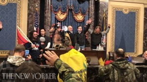 A Reporter's Footage from Inside the Capitol Siege | The New Yorker