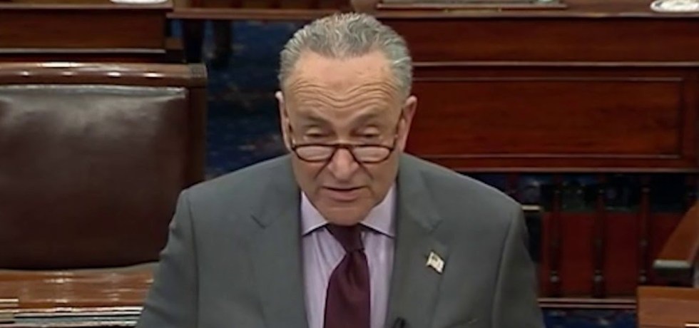 According to Majority Leader Chuck Schumer, Donald John Trump incited more than an insurrection