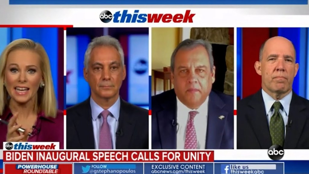 Entire ThisWeek panel slam Christie: whataboutism, morally lost, false equivalence on insurrection