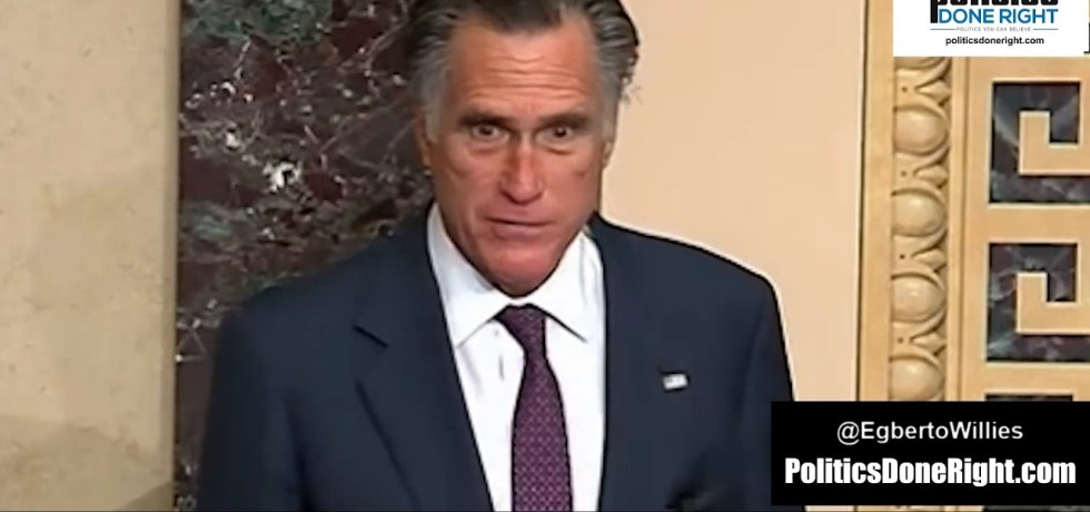 Mitt Romney calls out Republican Senators for lying to constituents, tell them the truth
