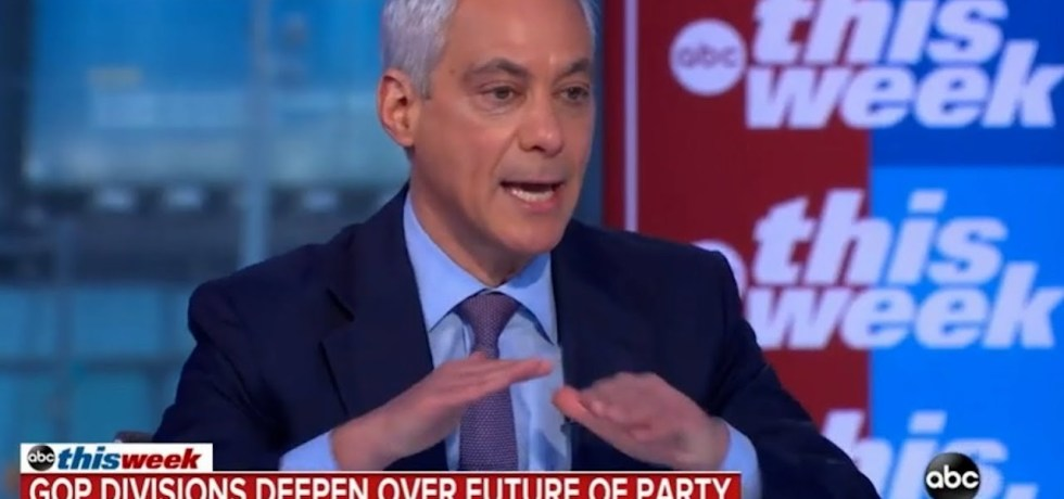Rahm Emanuel slams Chris Christie on GOP maladies. I will not be lectured by you!