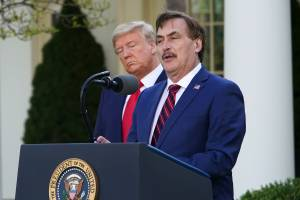 , MyPillow guy reassures D.C. deludenoids: 'Donald Trump was picked for eight years by God, not four', The Politicus