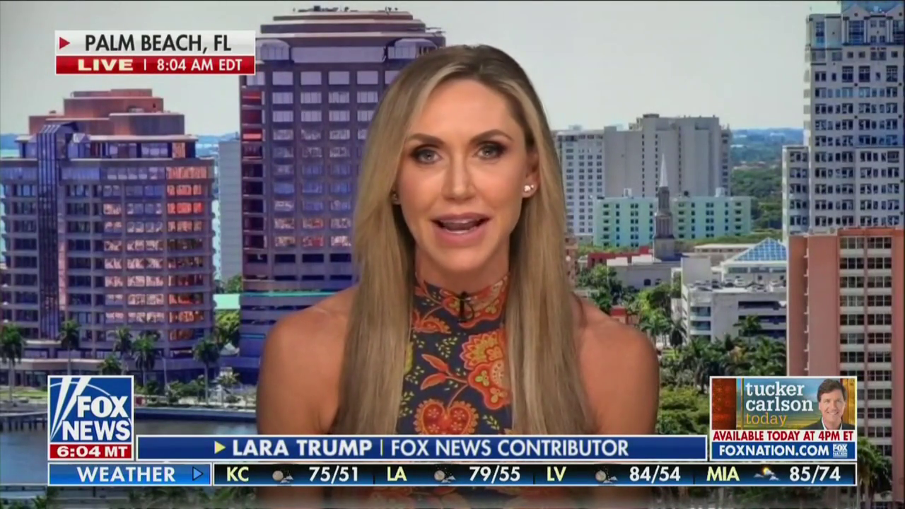 , LARA TRUMP Joins FOX News Just in Time to Boost Her Campaign for the Senate 🤮, The Politicus