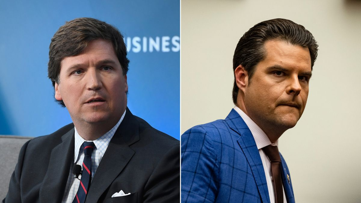 , Can't say that it Gaetz better, considering he's facing time for something, something, The Politicus