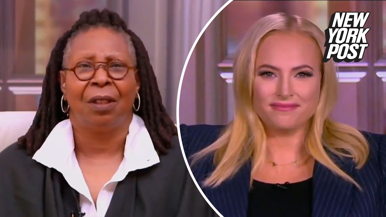 , Meghan McCain's worthless opinion about the royals draws blank stare from Whoopi Goldberg, The Politicus