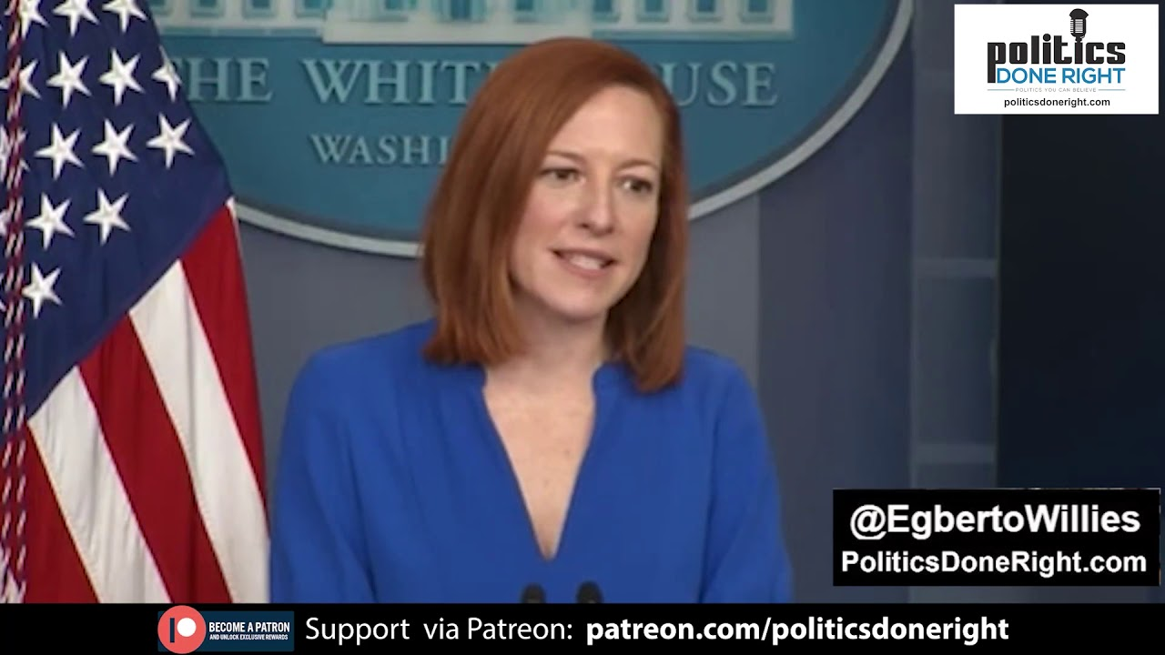 WH Press Secretary Jen Psaki dispatches reporter: I am glad you're focused on the important business