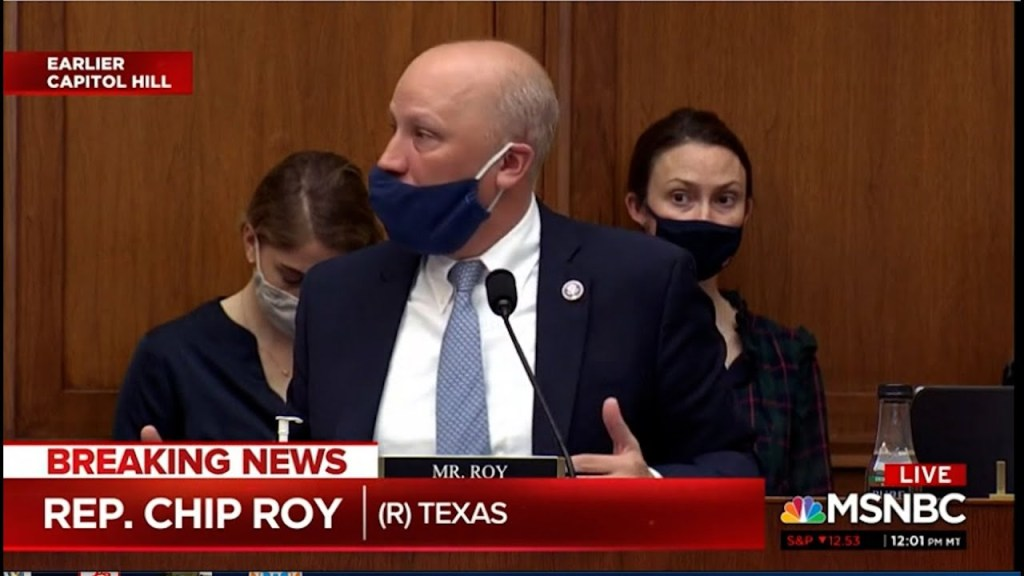 Republican Rep Chip Roy evokes lynchings at Anti Asian American Violence hearing