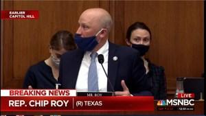 Republican Rep Chip Roy evokes lynchings at Anti Asian American Violence hearing