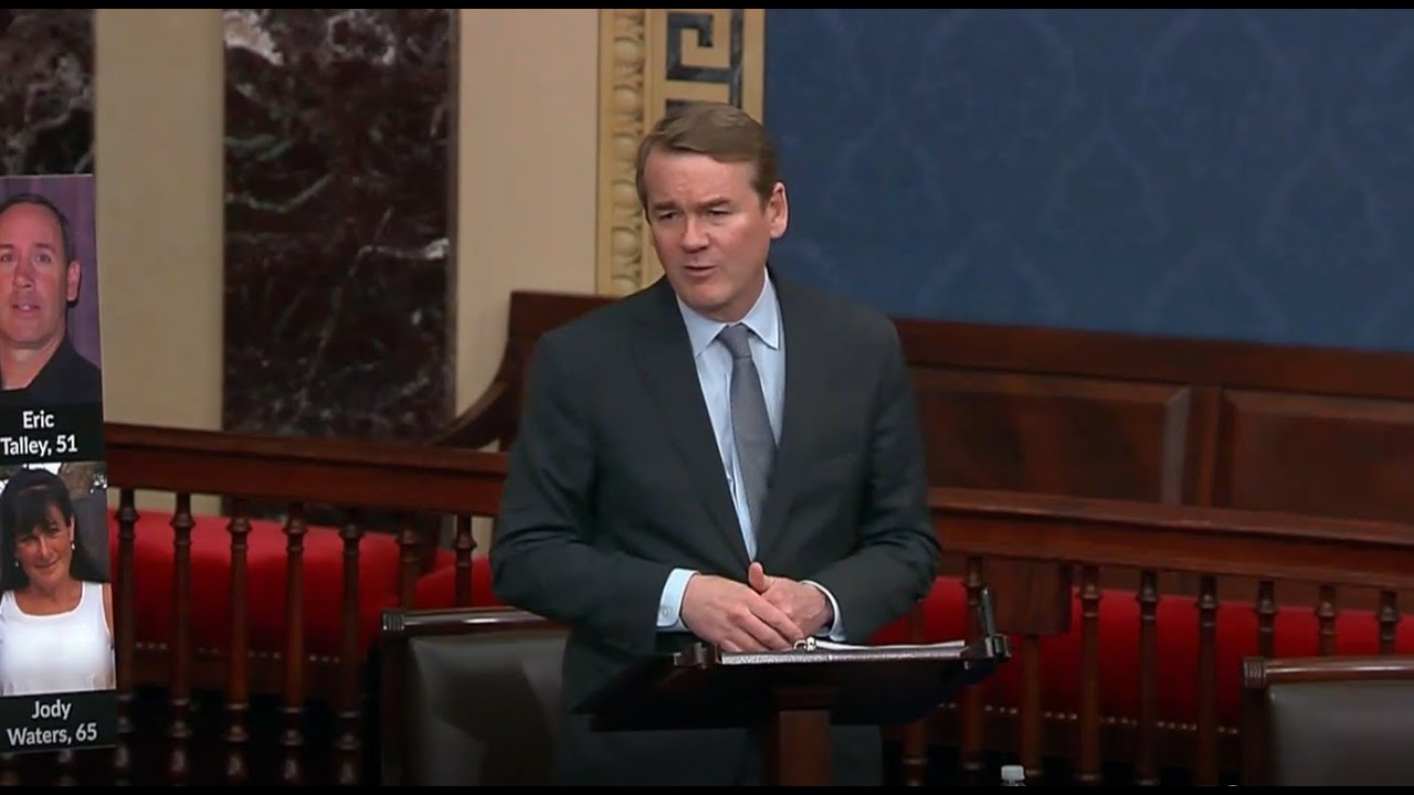 Senator Bennet Remembers Victims of Boulder Shooting in Floor Speech, Calls for Action