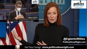 Jen Psaki civilly lays waste to reporter as she schools him on Americans' infrastructure wants