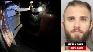 He did not comply, he threatened the cops, drove off, is white He lived!