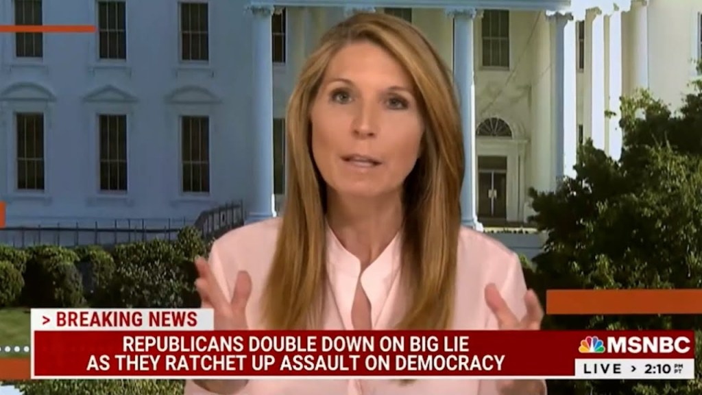 Nicolle Wallace on Republicans: Fear of Trump was the excuse. We were wrong. They are Trump.