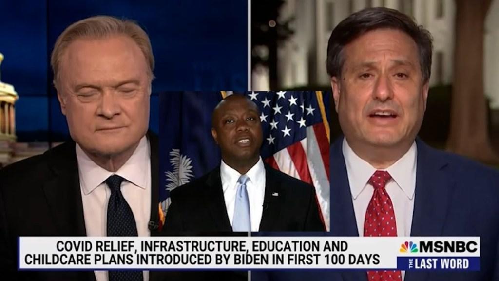 Oops! White House Chief of Staff threw shade at Sen Tim Scott's presidential address response Deep!