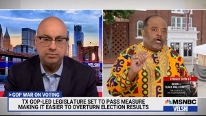 On Velshi: Roland Martin admonishes Democrats to get off their a$$es as GOP rigs 2022 Election.