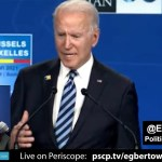 Biden slams Trump's 'Phony Populism' and a derelict GOP at NATO Summit & states he must deliver.