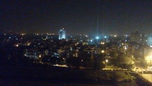 of staying out for the night for the first time in Noida