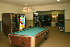 game room, The Polynesian