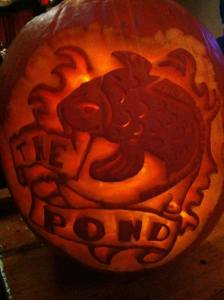 The Pond Halloween