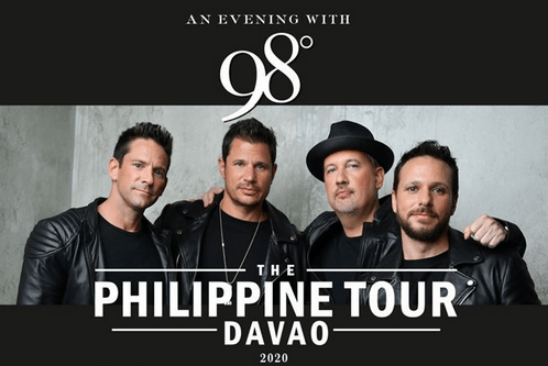 98 degress philippine tour
