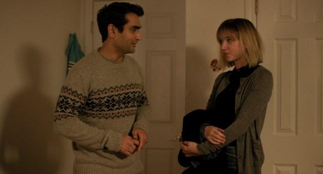Zoe Kazan and Kumail Nanjiani in The Big Sick