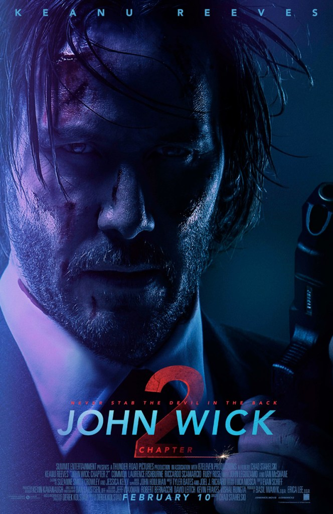 John Wick Chapter 2 Yeah He Is Back On Blu Ray The