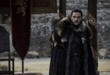 Jon Snow in the Game of Thrones Season 7 Premiere