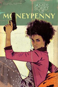 Moneypenny One-Shot Cover