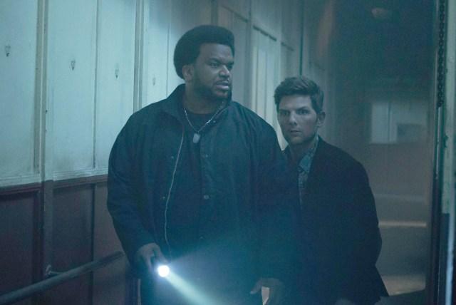 Craig Robinson, Adam Scott in FOX's Ghosted