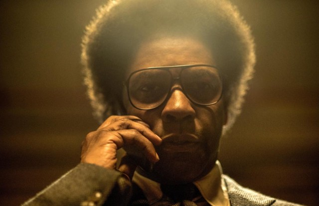 Denzel Washington as Roman J. Israel