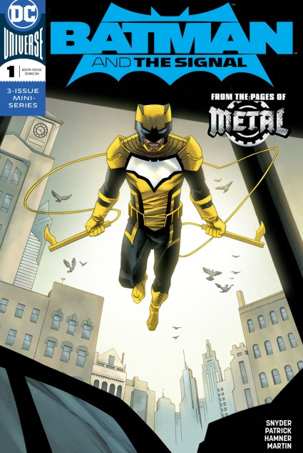 Batman and the Signal Alternate Cover