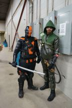 Deathstroke and Arrow