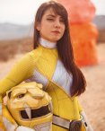 Angela Domanico as Yellow Ranger