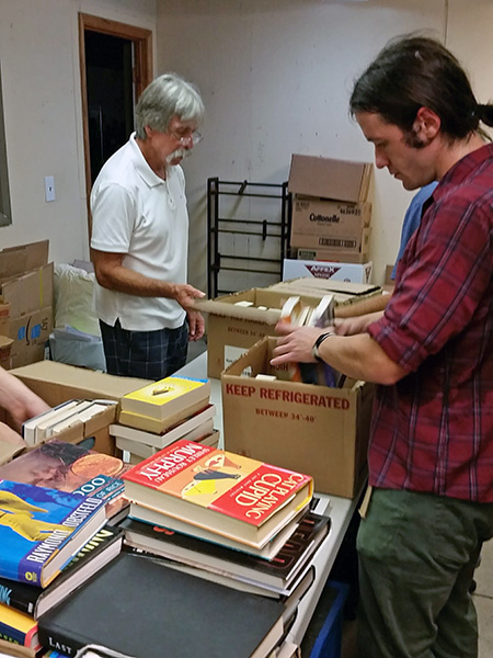 Homeward Books Volunteers Make a Big Impact in a Couple Short Hours