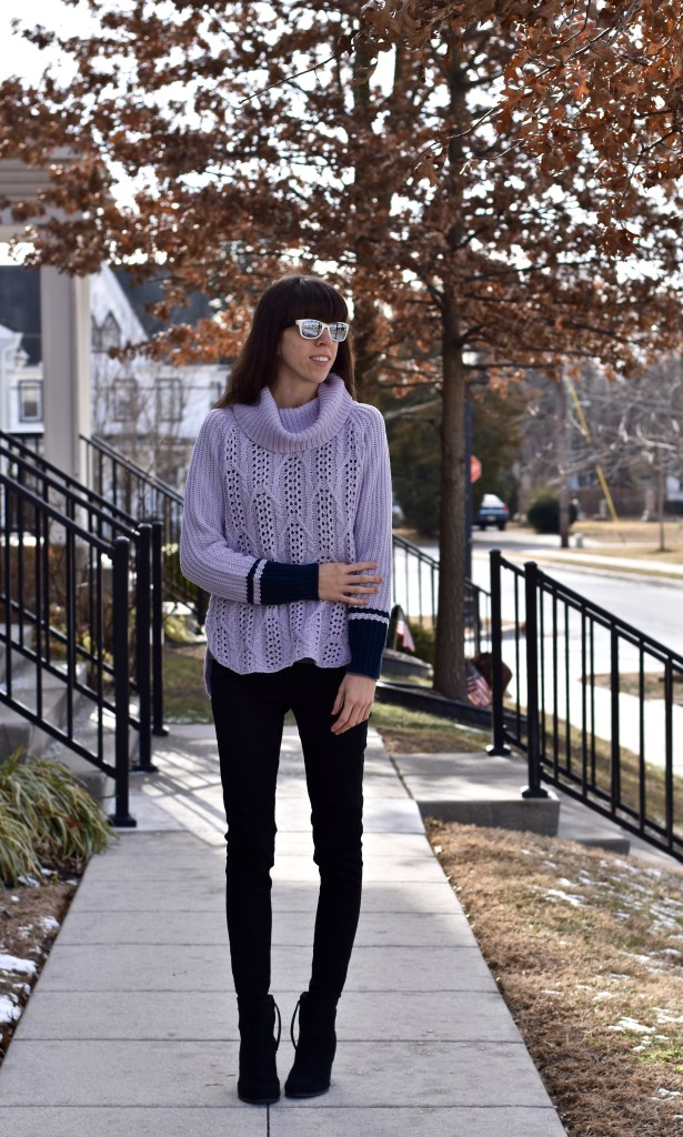 A Cowl-Neck Sweater You Need To Stay Warm All Winter!-thepoppyskull.com