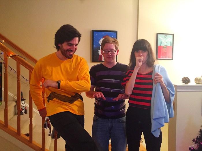The Peanuts Gang Halloween Costume-thepoppyskull.com